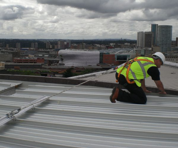 RoofSafe Rail in Application