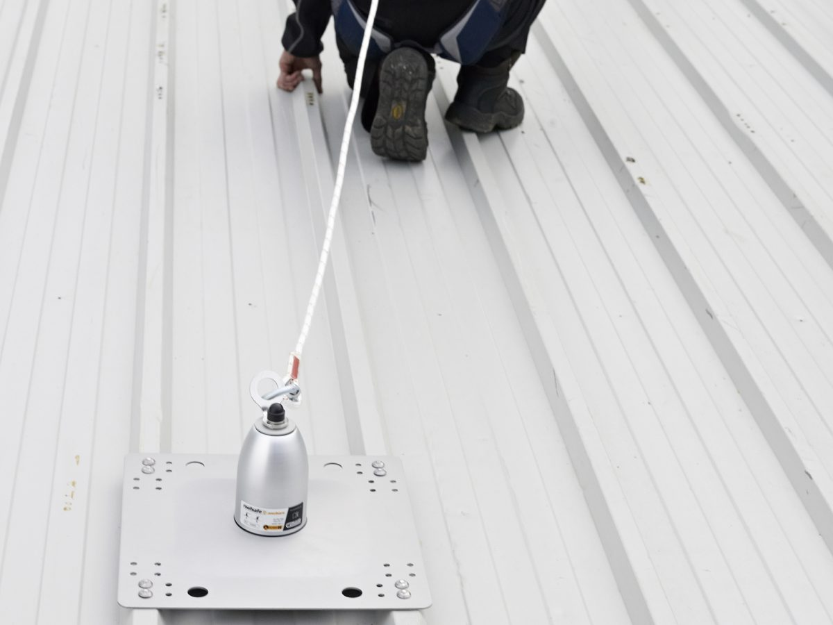 Uniline RoofSafe Anchor Application